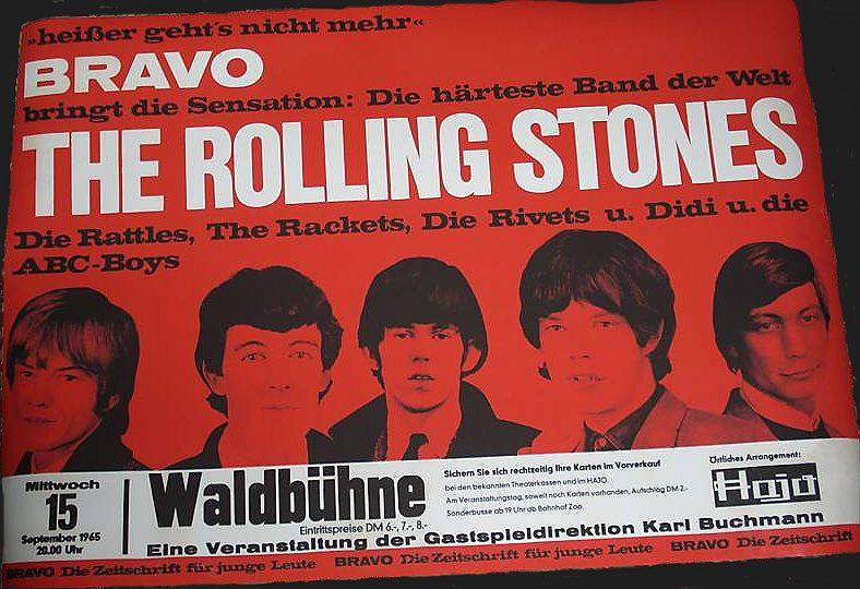 Die Spur der Steine: 1965 drohte ein Beat-Verbot im Westen